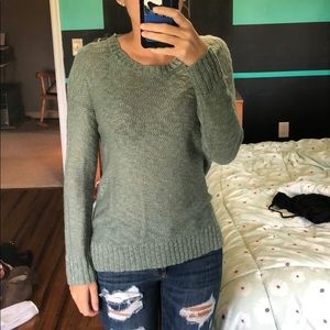 Charlotte Russe teal sweater